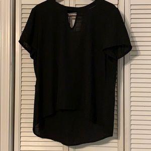 Black Cato Hi/low shirt size XL